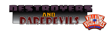 Destroyers and Daredevils Logo