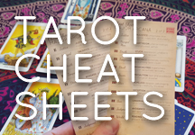 graphic relating to Free Printable Tarot Cheat Sheet called Tarot Cheat Sheet Playing cards