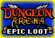 Ad for Dungeon Arena Epic Loot
