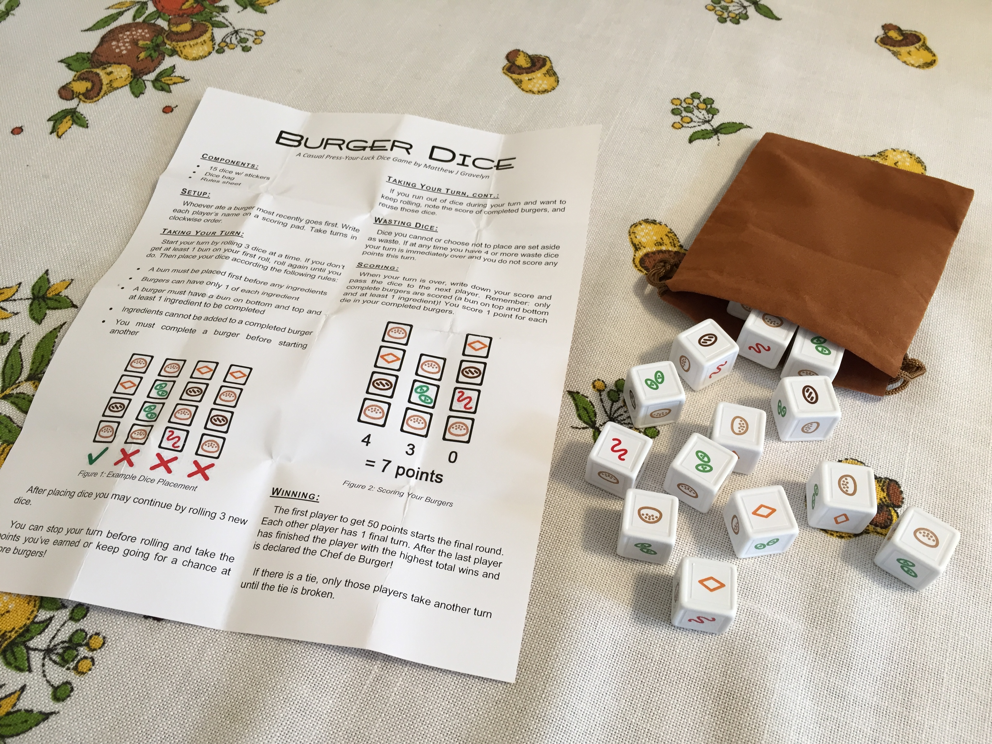 Rules For Sparkle Dice Game