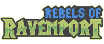 Rebels of Ravenport Logo