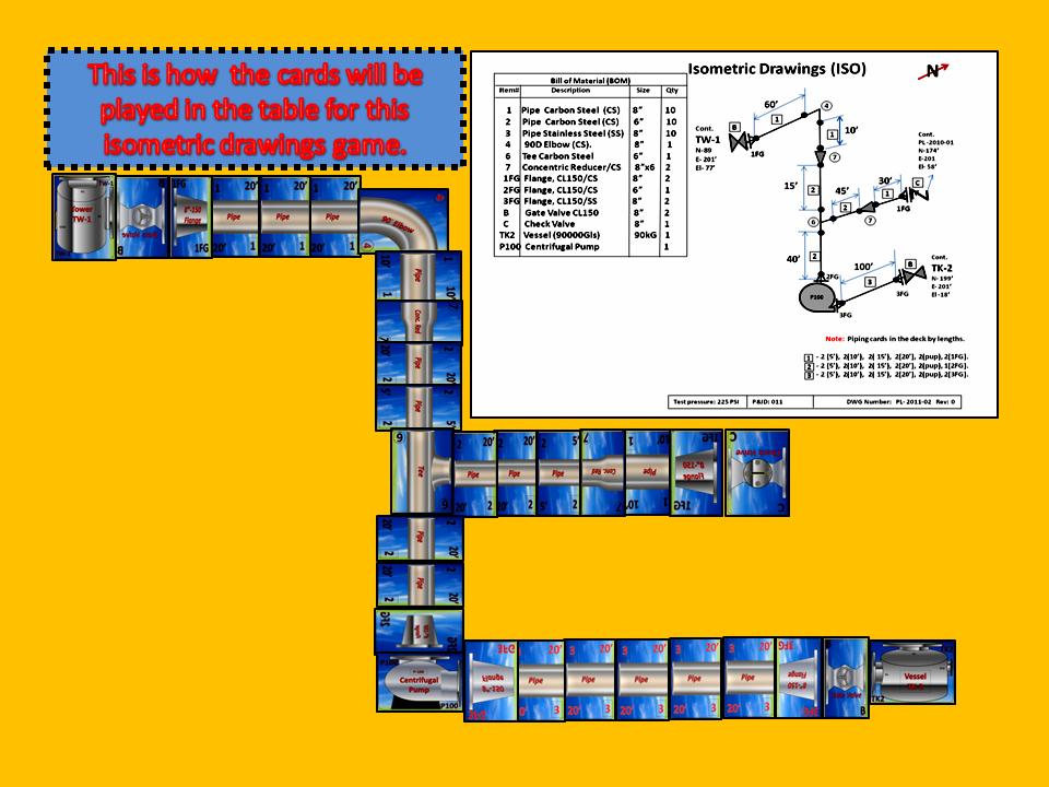 Pipefitting Fabrication /&  Engineering Card Games
