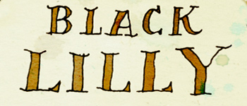 Black Lilly Deck of Tarot  Logo