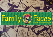 Ad for Family Faces - Grape