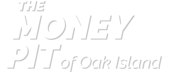 The Money Pit of Oak Island Logo