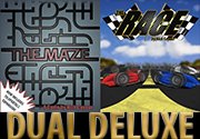 Ad for The Maze & The Race: Dual Deluxe Edition