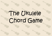 Ad for The Ukulele Chord Game
