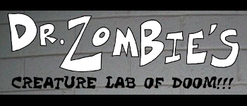 Dr. Zombie's Creature Lab of Doom! Logo