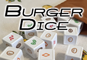 Ad for Burger Dice