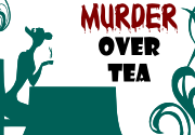 Ad for Murder Over Tea
