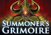 Ad for Summoner's Grimoire