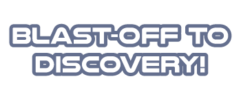 Blast-off for Discovery! Logo