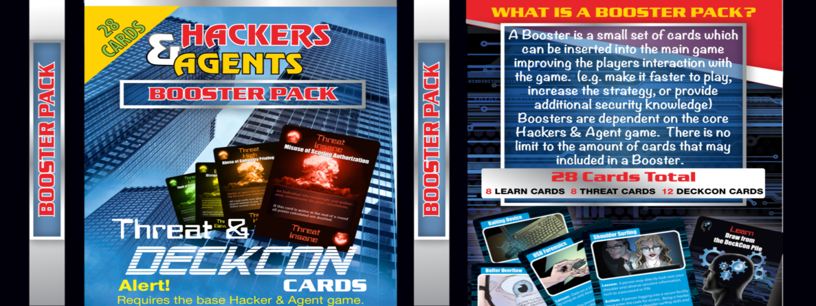 Hackers & Agents Threat Deckcon Booster