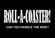 Ad for Roll-a-Coaster