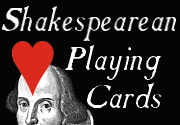 Ad for Shakespearean Playing Cards