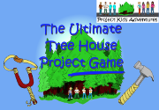 Ad for The Ultimate Tree House Project Game