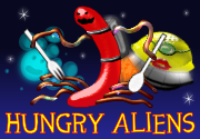 Ad for Hungry Aliens