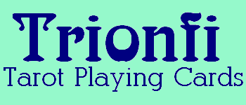 Trionfi (blue back) Logo