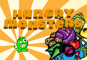 Ad for Hungry Monsters