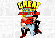 Ad for Great Comics Adventure: Volume One