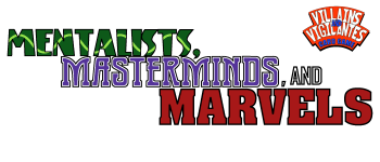 Mentalists, Masterminds, and Marvels Logo