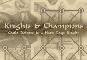Ad for Knights & Champions