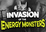 Ad for Invasion of the Energy Monsters