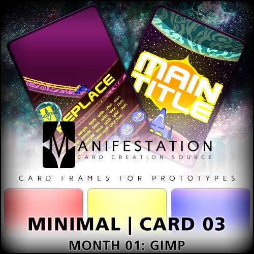 card game design template 03 gimp