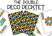 Ad for The double Deco Decktet