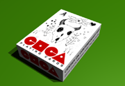 Ad for CoCA Artists Playing Cards 1