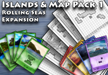 Rolling Seas - Islands & Map Pack 1