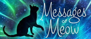 Messages of Meow Oracle Deck Logo