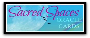 Sacred Spaces Oracle Cards (Tuck Box) Logo