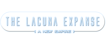 Lacuna Expanse: A New Empire Logo
