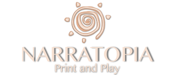 Narratopia Print and Play Logo