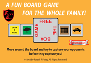 Ad for FREE THE BOX board game