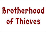 Ad for Brotherhood of Thieves