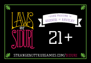 Ad for Laws of Siduri: 18 Blank Laws