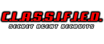 C.L.A.S.S.I.F.I.E.D. - Secret Agent Recruits Logo