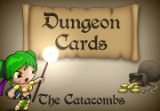Ad for Dungeon Cards - The Catacombs