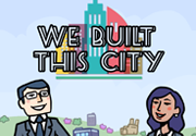 Ad for We Built This City