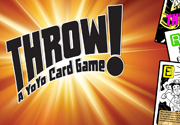 Ad for Throw!  A Yo-Yo Card Game