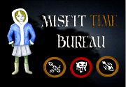 Ad for Misfit Time Bureau