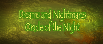 Dreams And Nightmares - Oracle Of The Night Logo