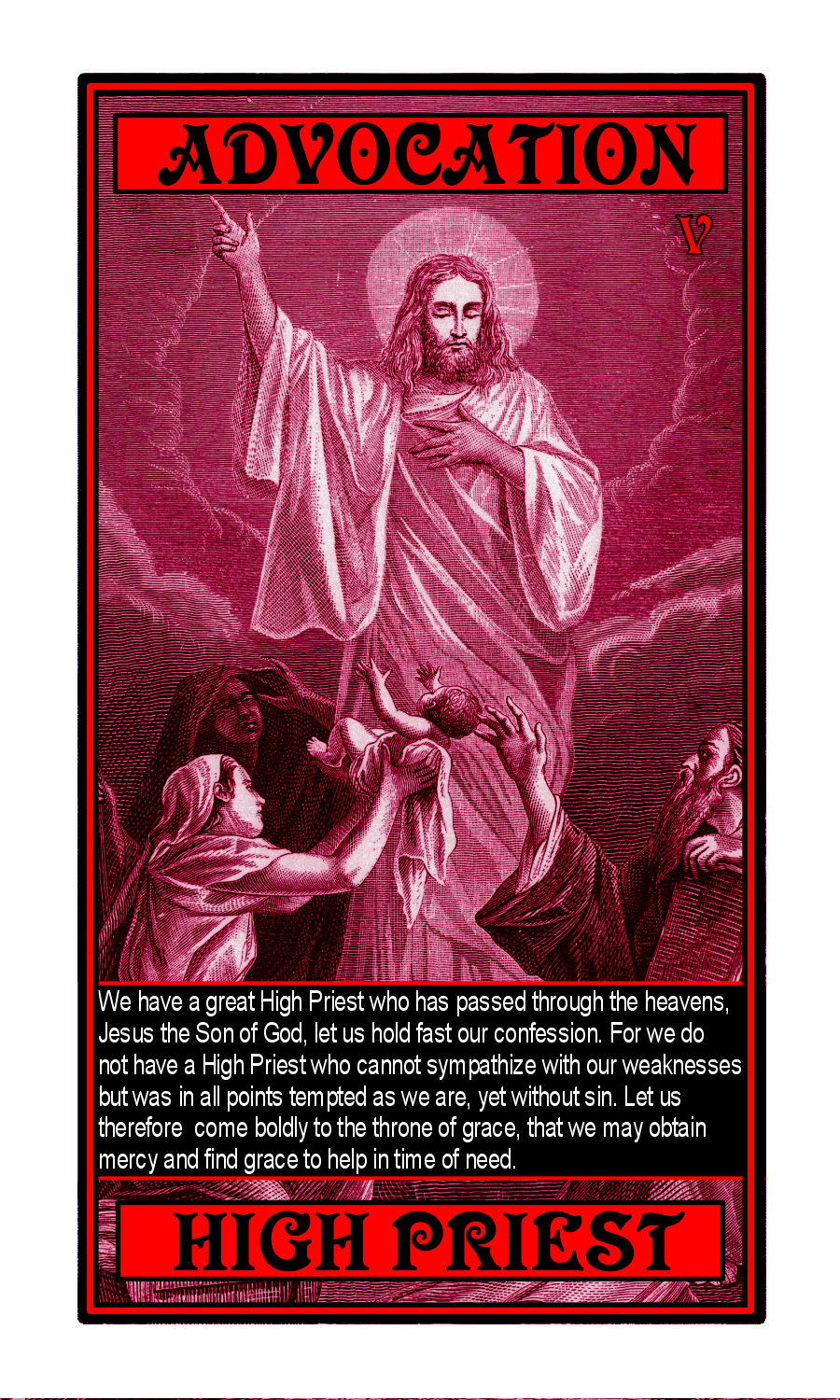 tarot of the most high reflections on the bible