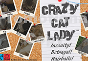 Ad for Crazy Cat Lady