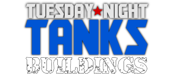 Tuesday Night Tanks - Buildings Logo
