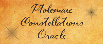 Ptolemaic Constellation Oracle Cards Logo