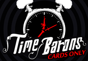 Ad for Time Barons (Cards Only)