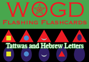 Ad for WOGD Flashing Flashcards